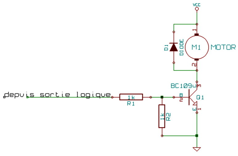 Le bit for Transistor porte logique