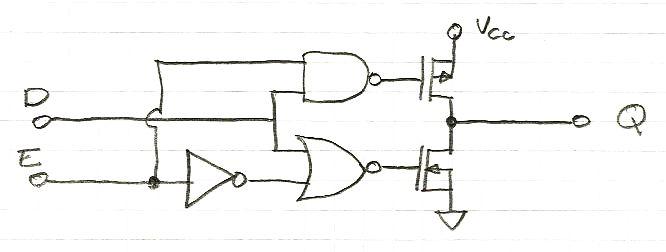 Transistors mos for Porte nand transistor